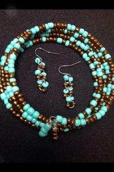 https://www.etsy.com/listing/215646717/earth-bracelet-earring-set