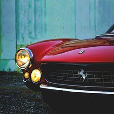 The Lusso | Front End Ferrari 250 GT Berlinetta Lusso | Grand Touring Luxury Sport Coupe | Also known as the GTL, GT/L or Berlinetta Lusso | Pininfarina | Scaglietti | 3.0L Tipo 168 V12 250hp | Top...