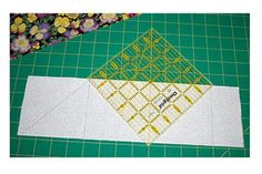 Make Half Square Triangles on a Grid - Janet Wickell