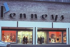 """I love the funky """"P"""" logo JC Penney had from the '60s through '71. From the now-defunct Dixie Square Mall in Harvey, IL."""