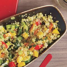 Spring Vegetable and Quinoa Pilaf