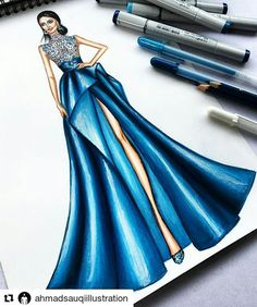 Fashion Sketchboook Challenge New - sewingnpatternsFashion sketch like a pro with 30 days FREE fahion design course How to Draw Fashion Sketches step by Trendy Ideas Fashion Illustration Pencil Sketches Trendy Ideas Dress Design Drawing, Dress Design Sketches, Fashion Design Sketchbook, Fashion Design Drawings, Wedding Dress Sketches, Dress Drawing, Fashion Drawing Dresses, Fashion Illustration Dresses, Dress Illustration