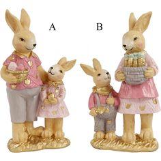 Húsvéti dekoráció : Nyuszi Teddy Bear, Toys, Porcelain, Animals, Activity Toys, Porcelain Ceramics, Animales, Animaux, Clearance Toys