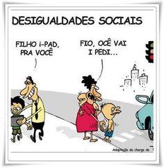 IMAGENS ENGRAÇADAS DESIGUALDADES SOCIAIS