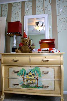Stupefying Tips: Attic Conversion Playroom cozy attic bookshelves.Rustic Attic Bathroom attic before and after fixer upper. Attic Library, Attic Office, Attic Playroom, Playroom Design, Attic Doors, Attic Window, Attic Stairs, Attic Ladder, Apartment Therapy