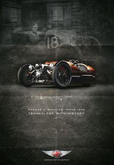 Morgan 3 Wheeler, 1st Prize Winner by Germano Vieira | Transport | 3D | CGSociety