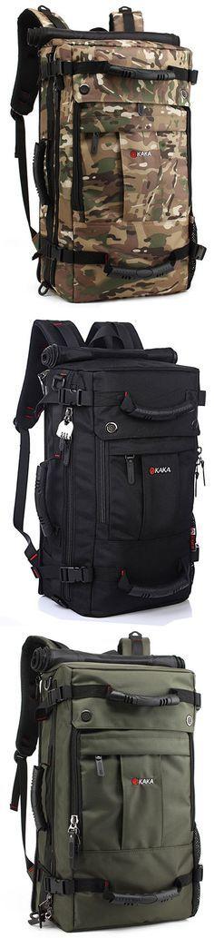 US$54.14#Oxford Backpack Casual Travel Single-shoulder Crossdody Bag Multi-functional Laptop Bag For Men