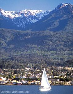 Port Angeles, WA, northern edge of the Olympic Peninsula. Great place to stay when visiting Olympic National Park.