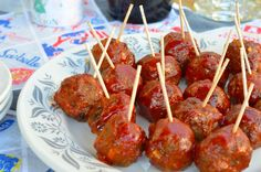 White Trash Party Meatballs We made party food... | Delishytown