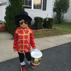 baby michael jackson costume
