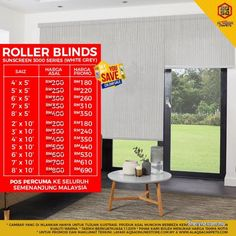 Other for sale, RM180 in Klang, Selangor, Malaysia. Roller Blinds - Best Window Decor Option At Cheap Price   SAVE YOUR MONEY TODAY BY GREAT WE SAVE YO