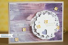 Glückwunschkarte mit Farbverlauf