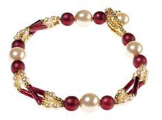 Beaded Jewellery Set - Bracelet tutorial  lovely jubly