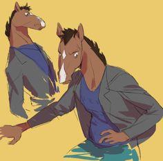 bojacks and todds! Cartoon Fan, Cartoon Games, Disney Channel, Cartoon Network, Bojack Horseman, Animation Series, Fanart, Furry Art, Art Blog