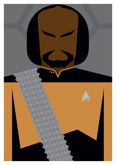 Star Trek: The Next Generation Character by headfuzzbygrimboid