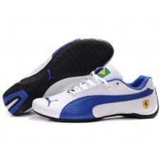 a3daa0f63b9f Puma Brazil Men Edition Series White Ingigo Nike Shox Shoes