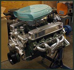 Nailhead Buick Engine