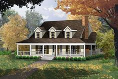 House Plan 77080 | Country Plan with 2143 Sq. Ft., 4 Bedrooms, 3 Bathrooms at family home plans