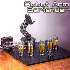 DIY: Arduino Robot Arm Bartender