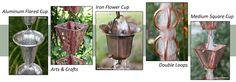 Rain chains and garden accessories - Lifetime Warranty and FREE Shipping!