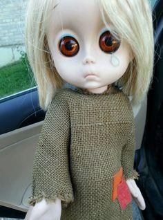 1965 Harsbro Little Miss No Name Doll Vintage