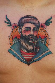 Sailor tattoo traditional
