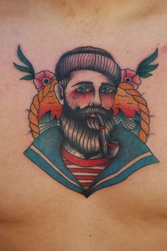 Sailor tattoo traditional