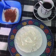 Bom dia!!!! #alimentacaosaudavel #bomdia #breakfast #cafedamanha #diet #eat #eatclean #fitness #healthy #iogurte #ilhabela #lowcarb #motivation #nutrição #reeducaçãoalimentar #sjc #tapioca #vidasaudavel by carlaireno