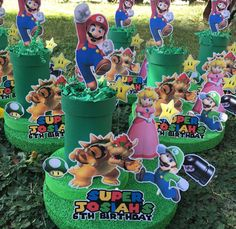 Super Mario Bros centerpiece