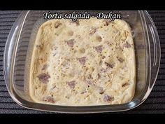 Dieta Dukan: Receita Torta salgada