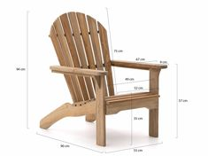 ROUGH-S adirondack - ees Smit Tuinmeubelen Woodworking Furniture Plans, Pallet Furniture, Rustic Furniture, Furniture Design, Outdoor Furniture, Garden Furniture, Adirondack Chair Plans Free, Adirondack Chairs, Outdoor Chairs