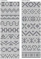 Image result for cute fair isle chart