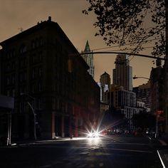 New-York sans lumière !