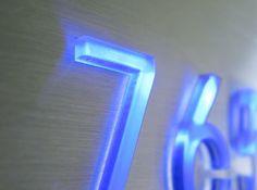 LED Illuminated Signage Doorbells, Recessed LED Light : Luxello.com