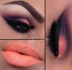 <3 purple & peachy color