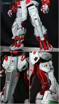 Custom Build: PG 1/60 Gundam Astray Red Frame [Detailed] - Gundam Kits Collection News and Reviews Gundam Toys, Gundam Art, Astray Red Frame, Gundam Astray, Gundam Wallpapers, Gundam Custom Build, Gundam Wing, Gundam Model, Mobile Suit