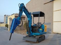 1500kg Capacity Mini Crawler  Excavator Used For used For Road Repair