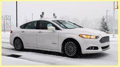 Ford Autonomous Vehicle Snow Test