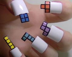 Awesome 16 Easy Nail Art Designs http://www.designsnext.com/16-easy-nail-art-designs/ Check more at http://www.designsnext.com/16-easy-nail-art-designs/