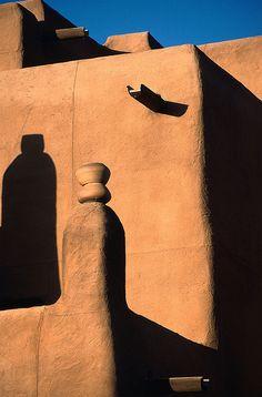 vvv Adobe - Loretto Hotel, Santa Fe, New Mexico