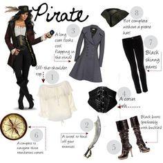 diy pirate costume | DIY Halloween Costume: Pirate por fashionfemmefatale con stretch pants