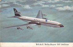 Boeing 707, Boeing Aircraft, Rools Royce, Aircraft Images, Cargo Airlines, Vintage Air, Air Travel, The Unit, Golden Age