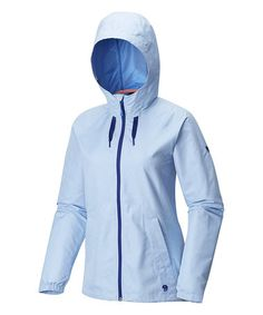 This Bright Island Blue Wind Activa™ Jacket is perfect! #zulilyfinds