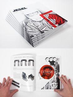 25 Awesome Catalog Design