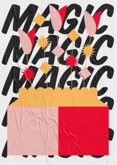 Women of Graphic Design - Laura Normand (Paris) Magic Plants poster, Inspiration Typographie, Typography Inspiration, Graphic Design Inspiration, Illustration Design Graphique, Art Graphique, Illustration Art, Cover Design, Art Design, Graphic Design Posters