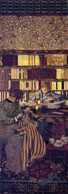 Figures in an Interior: Work by Edouard Vuillard