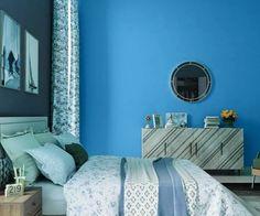 teals-blues-colour-shade-asian-paints-9657 Asian Paints Colour Shades, Asian Paints Colours, Paint Shades, Color Shades, Home Paint Colour, Wall Paint Colors, Bedroom Wall Designs, Bedroom Wall Colors, Wall Colour Texture