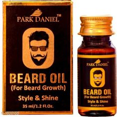 Men's Grooming Standard Choice Hair Care Oil   *Product Name* Park Daniel Premium Beard Growth oil For Men Hair Oil  *Brand Name* Park Daniel  *Product Type* Oil  *Capacity* 35 ml  *Package Contains* It Has 1 Pack Of  Fragrance Beard Oil  *Sizes Available* Free Size *   Catalog Rating: ★4.2 (289)  Catalog Name: Free Mask Make Up Park Daniel Premium Choice Hair Care Oil Vol 1 CatalogID_197684 C51-SC1662 Code: 441-1520159-