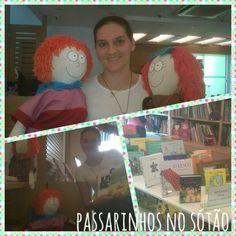 Visita a Casa Verde livraria
