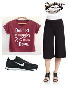 """""""Outfit Idea by Polyvore Remix"""" by polyvore-remix ❤ liked on Polyvore featuring NIKE, Robert Lee Morris and Context"""